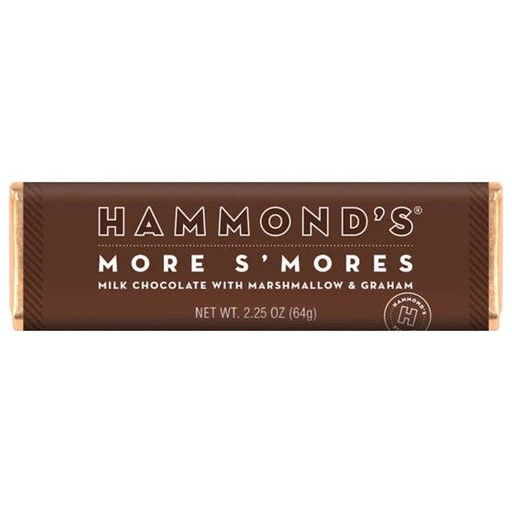 Hammond's More S'mores Milk Chocolate Candy Bar