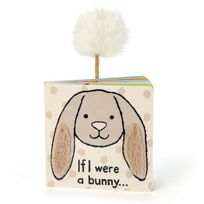 "Jellycat ""If I Were A Bunny"" Book (Beige)"