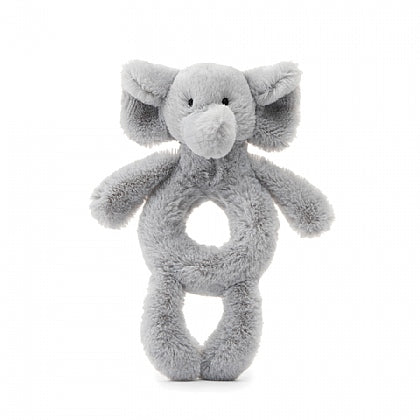 Jellycat Bashful Elephant Ring Rattle