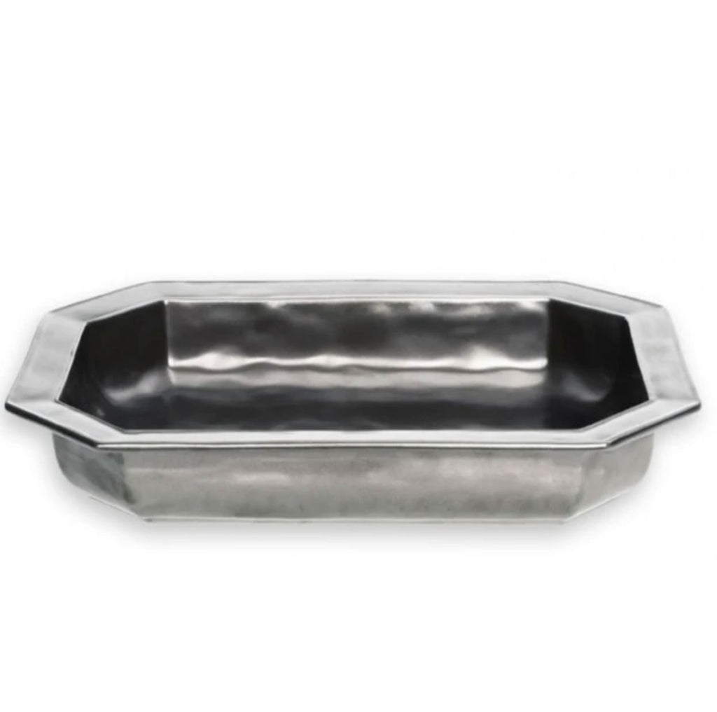 Juliska Pewter Rectangular Baker