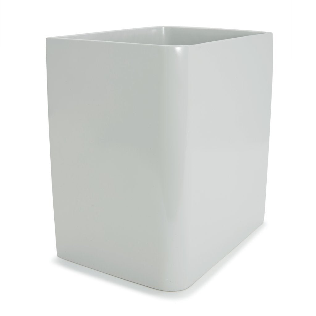 Lacca Gray Waste Basket
