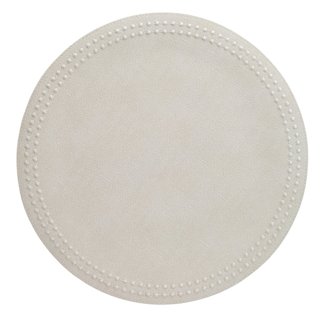 White Pearls Washable Placemat