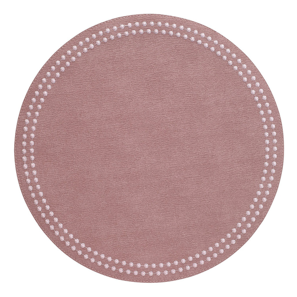 Mauve / Rose Pearls Washable Placemat