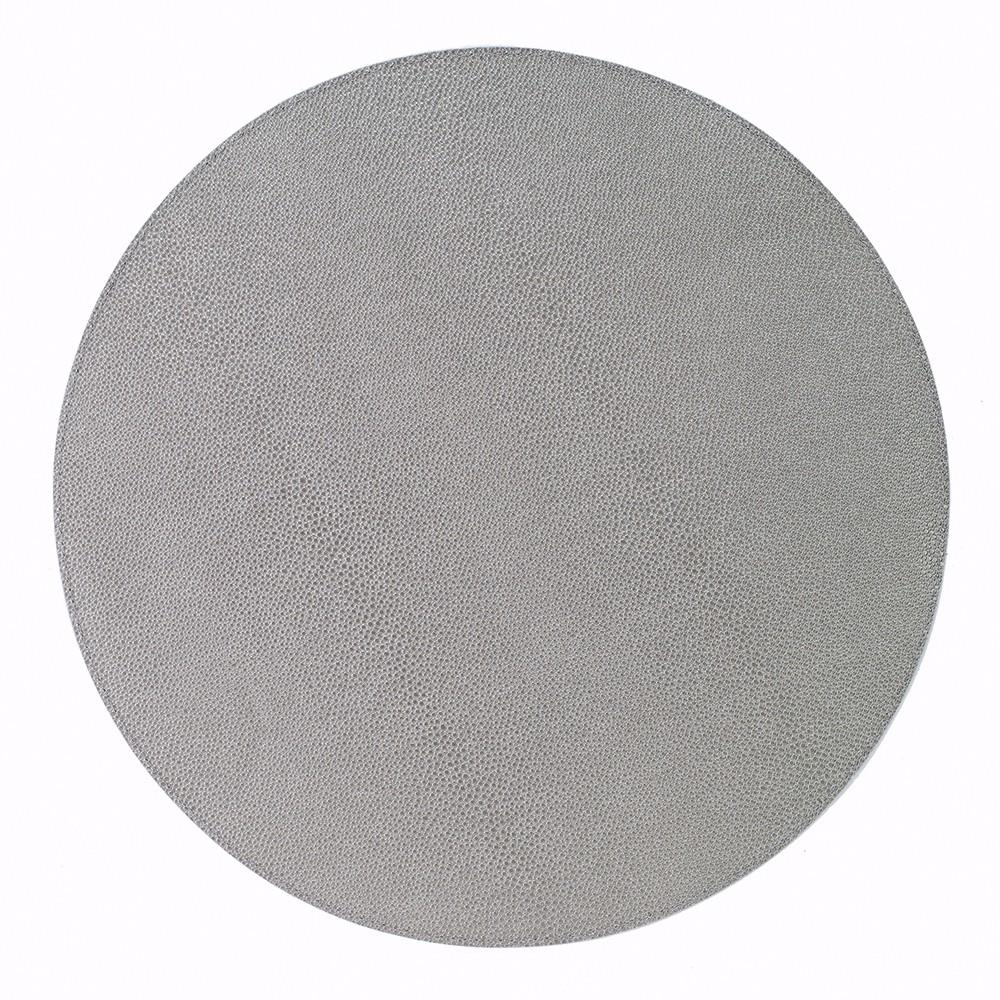 Silver Round Placemat