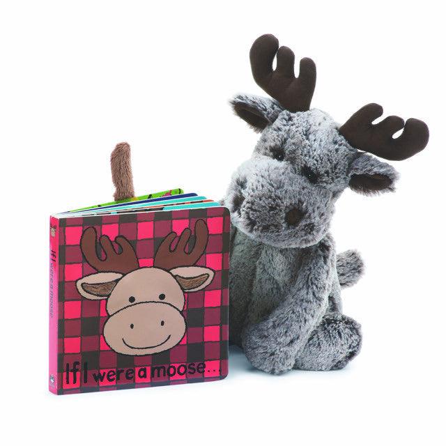 "Jellycat ""If I Were a Moose"" Book"