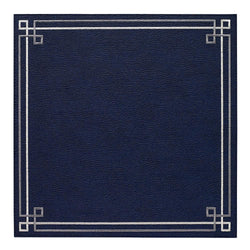 Navy / Silver Washable Placemat
