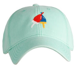 Needlepoint Buoys Hat