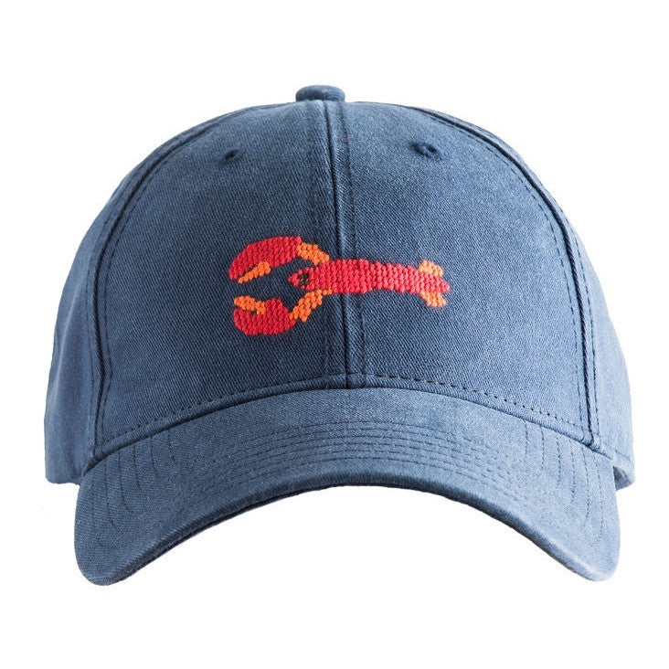 Lobster Needlepoint Hat - Waiting On Martha - 1