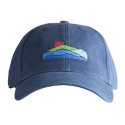 Mountains Needlepoint Hat - Waiting On Martha - 1