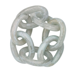 Celadon Chain Link Napkin Ring