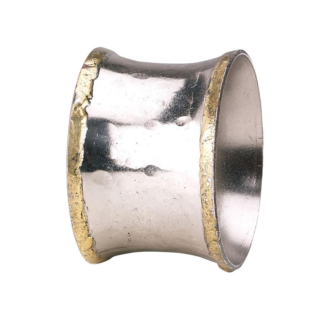 Concave Metallic Napkin Ring