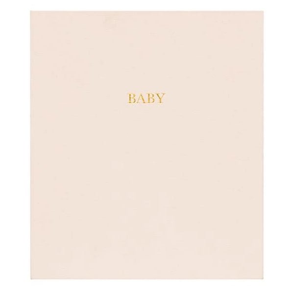 Sugar Paper Pale Pink Baby Book