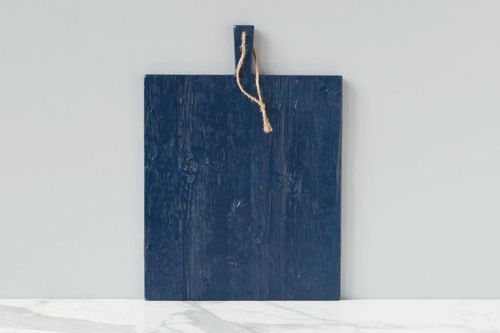 Navy Rectangle Mod Charcuterie Board