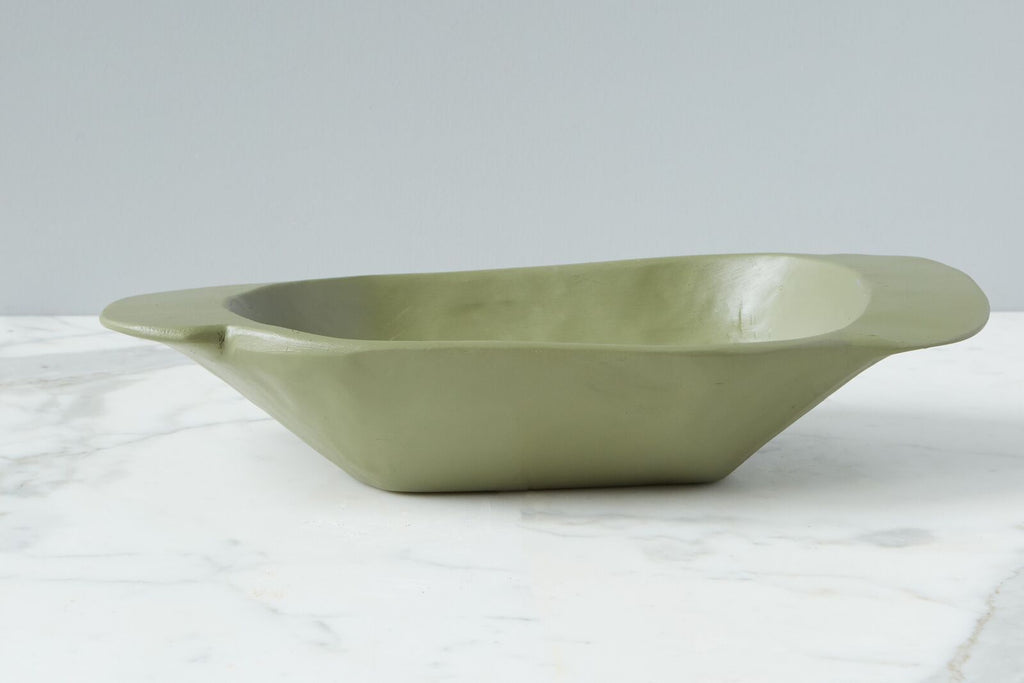 Colored Vintage Dough Bowl