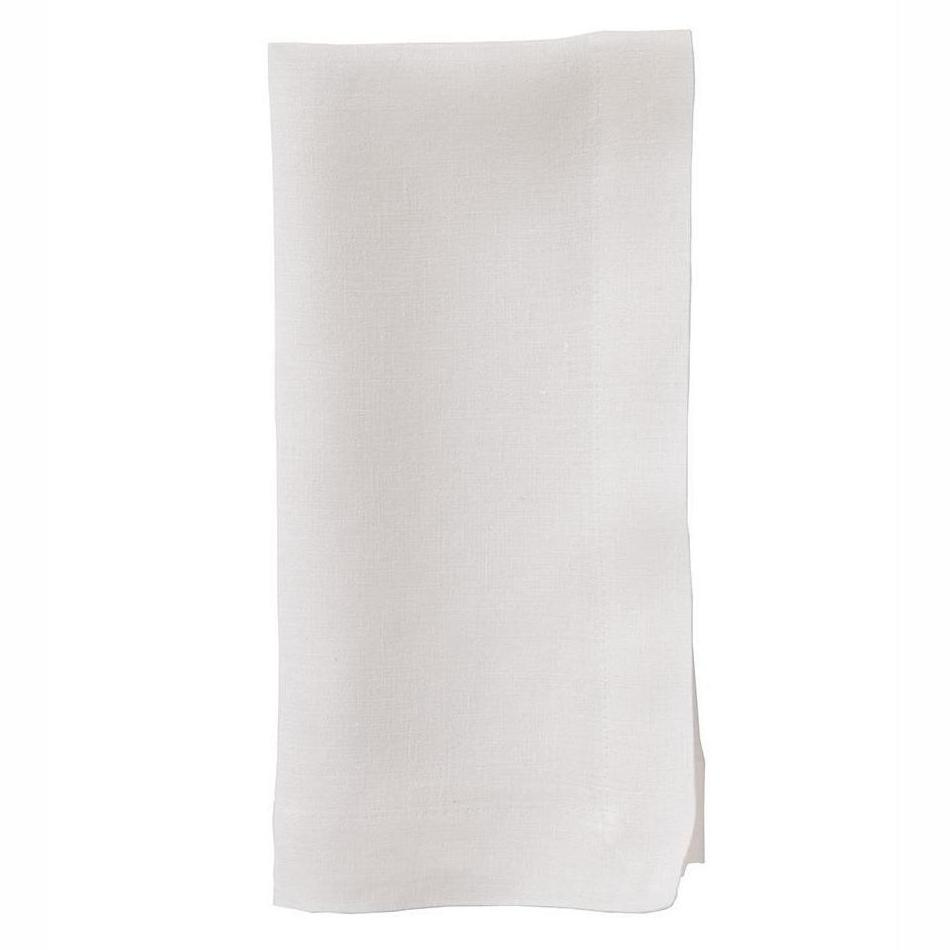 """No Iron"" Off-White Riviera Dinner Napkin"
