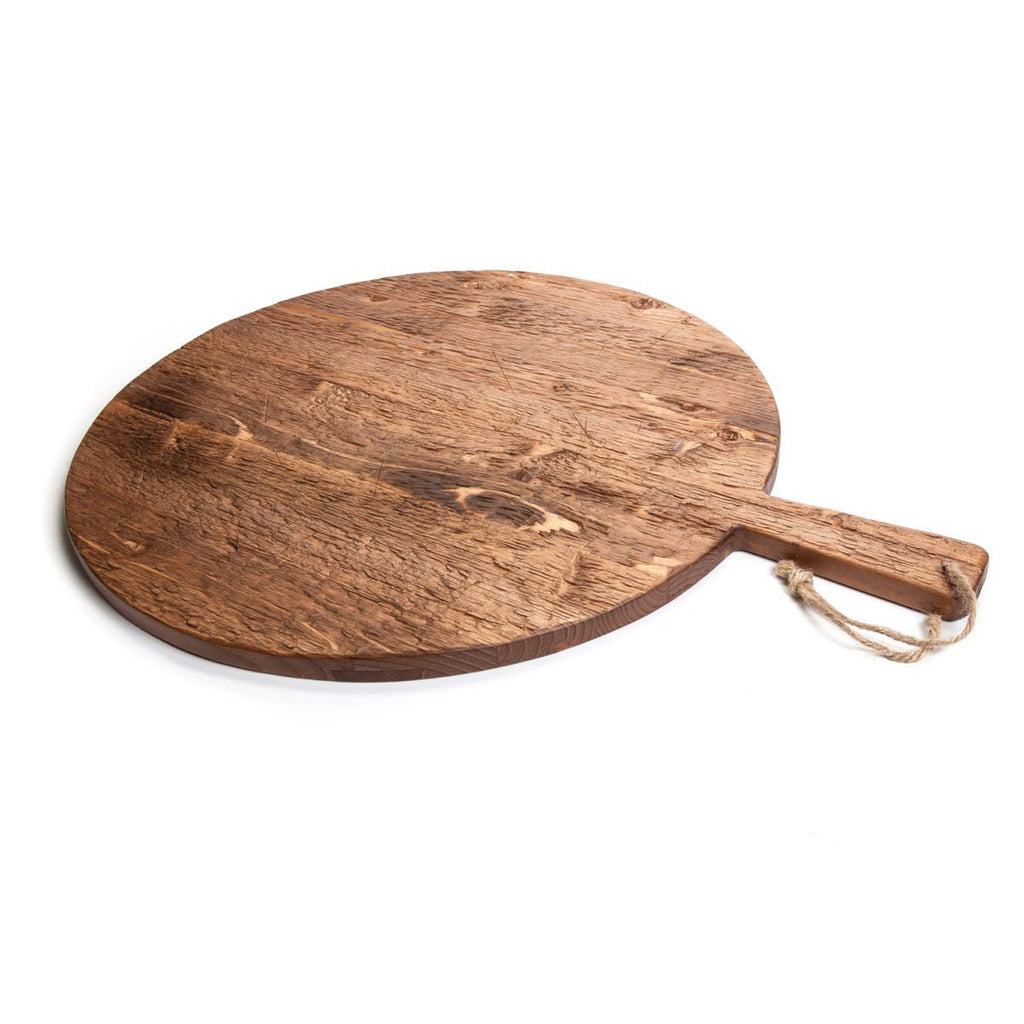 Reclaimed Pine Wood Round Charcuterie / Pizza Board