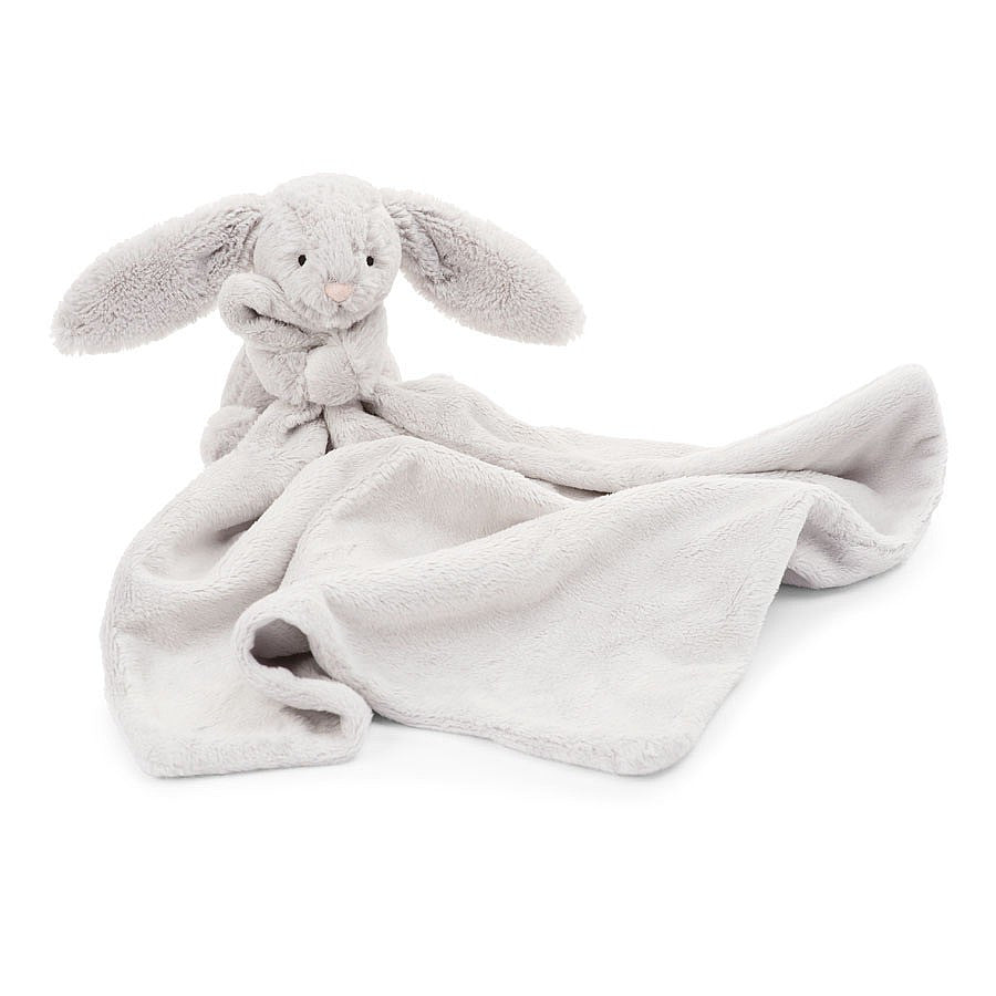 Jellycat Bashful Bunny Gray Soother