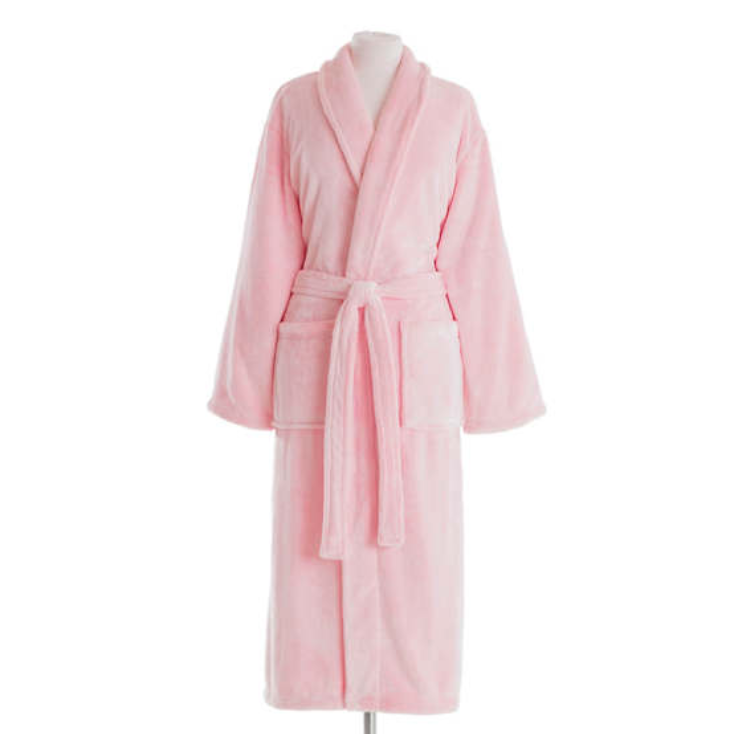 Pine Cone Hill Sheepy Fleece Long Frosted Melon Robe