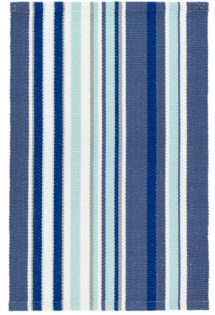 Dash & Albert Skyler Stripe Indoor/Outdoor Rug