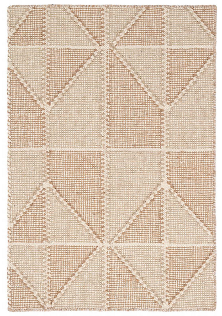 Dash & Albert Ojai Wheat Loom Knotted Cotton Rug