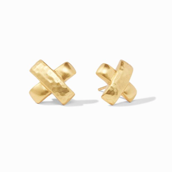 Julie Vos Gold Catalina Stud Earring