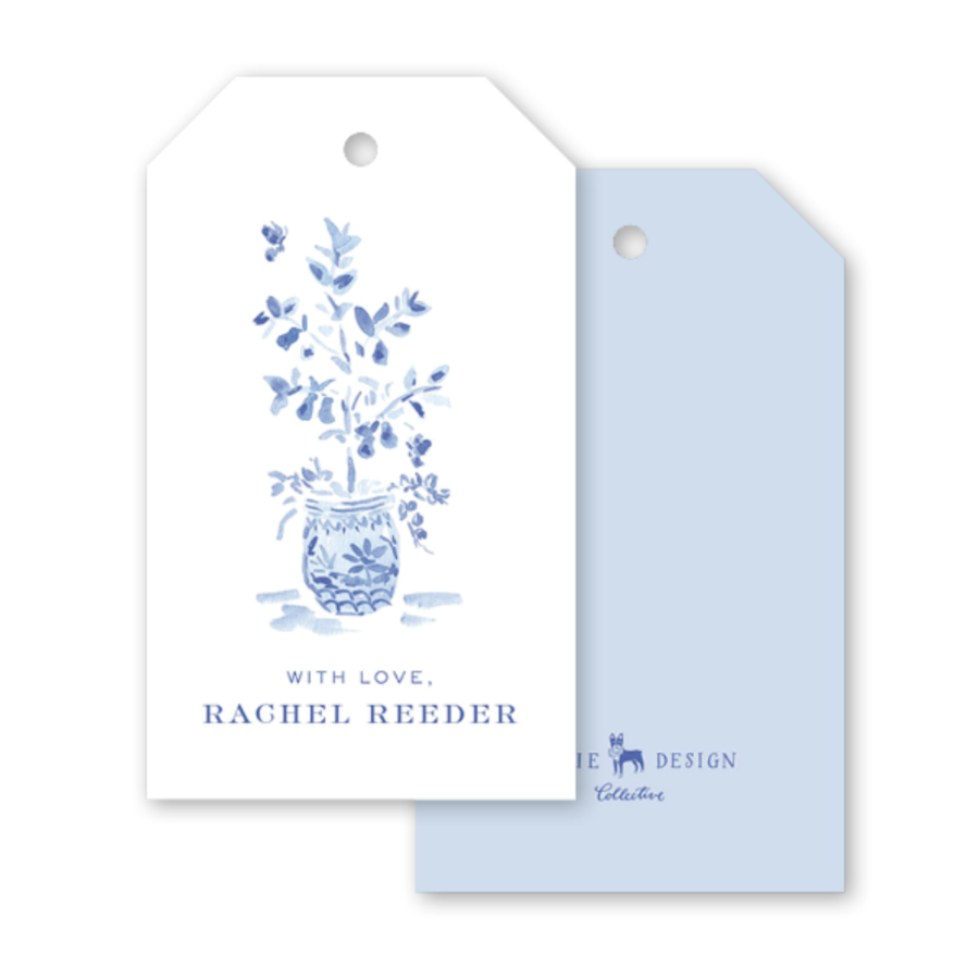 Heron Topiary Gift Tags