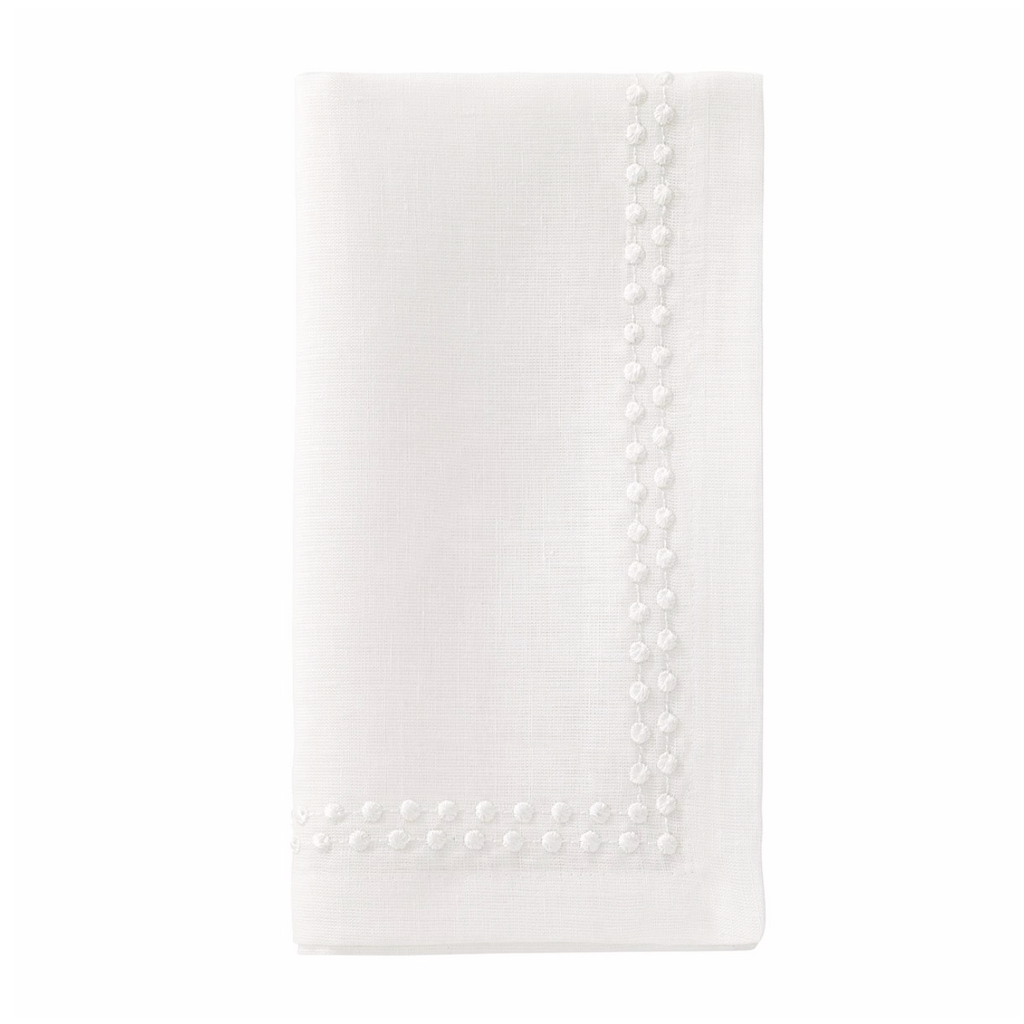 White Pearl Dinner Napkin