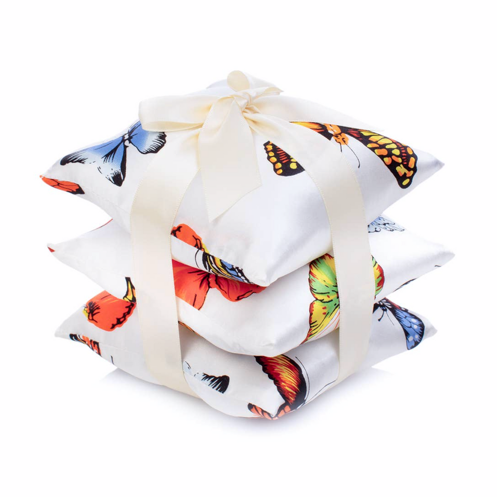 Butterfly Silk Vetiver Sachet Set