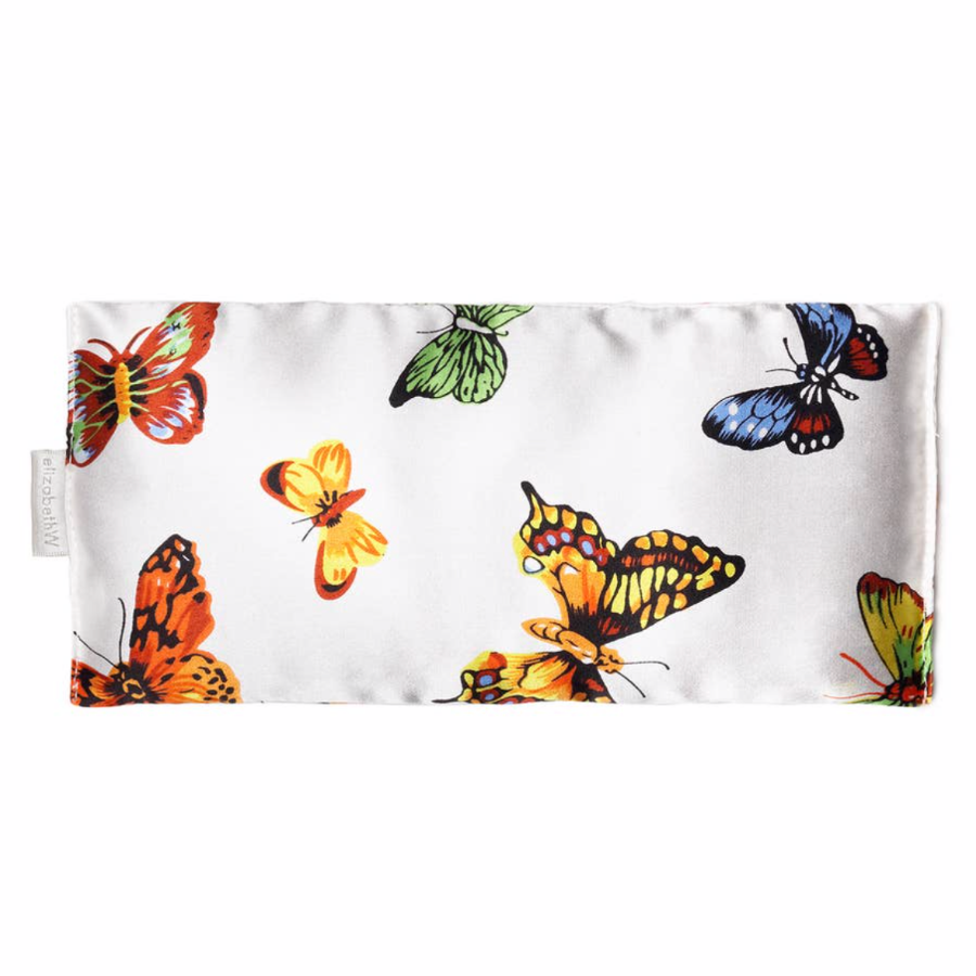 Butterfly Silk Eye Pillow