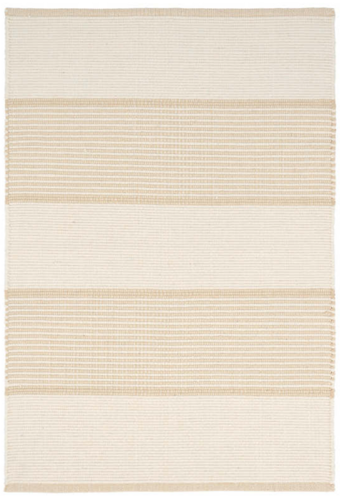 Dash & Albert La Mirada Wheat Woven Cotton Rug