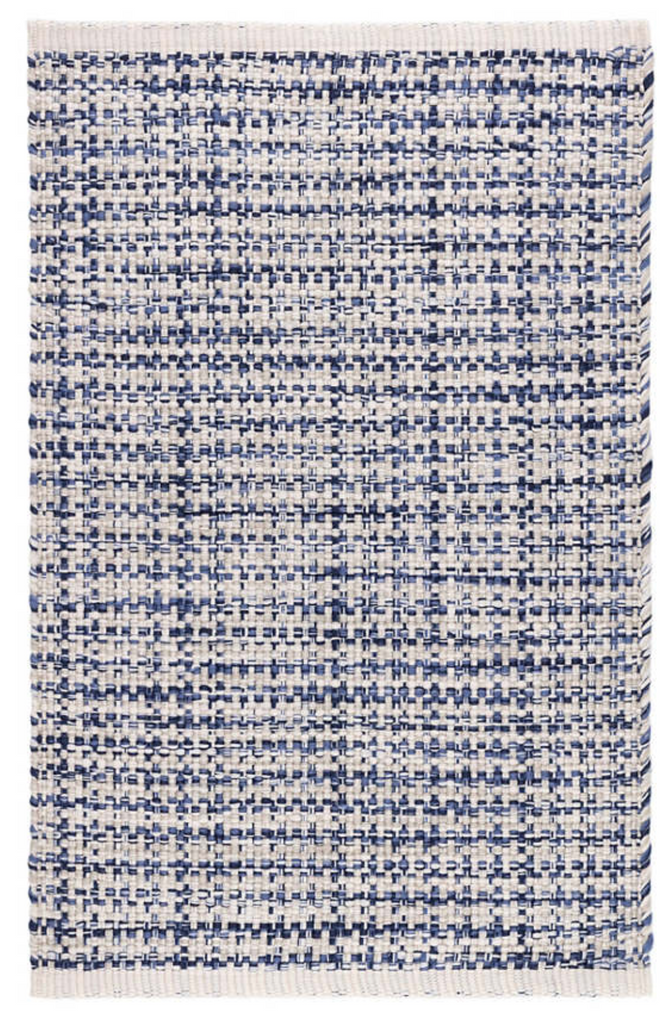 Dash & Albert Journey Blue Indoor/Outdoor Rug