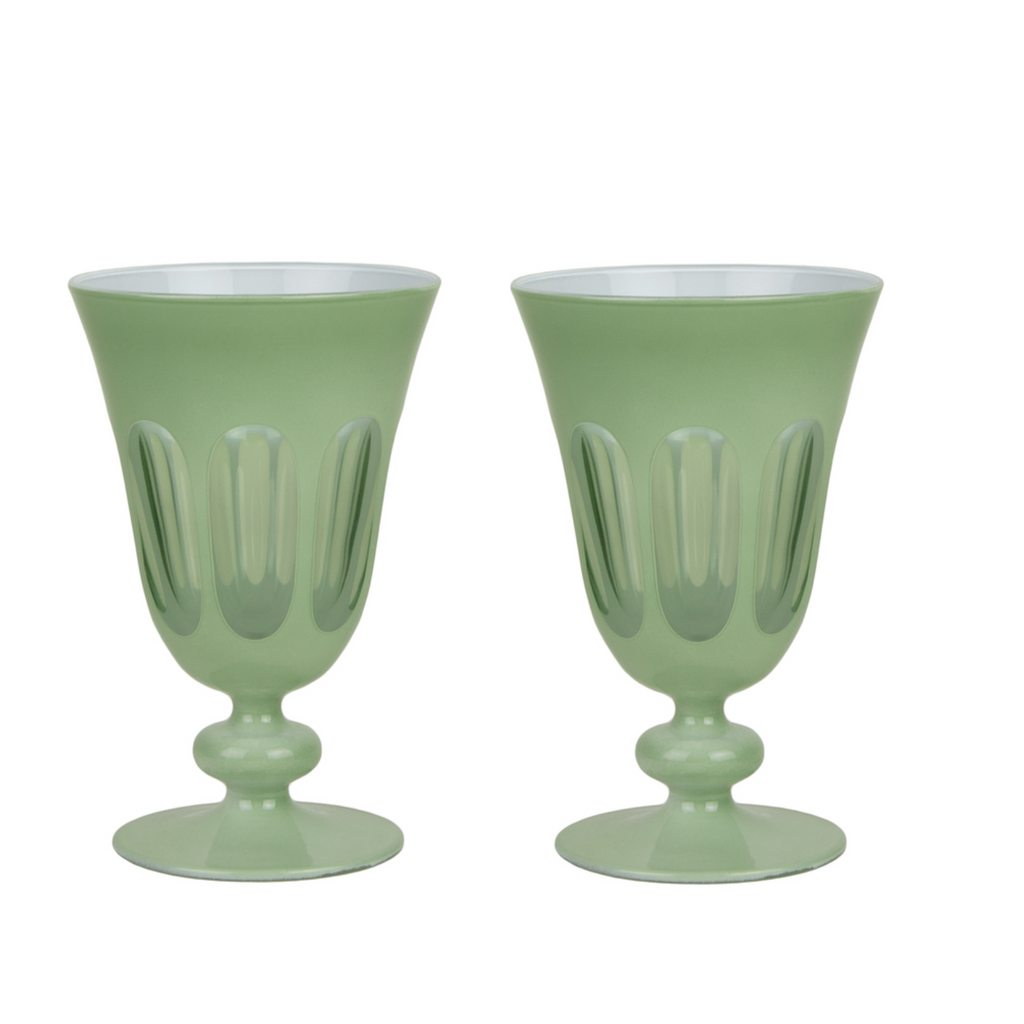 Paale Sage Rialto Tulip Glasses - Set of 2