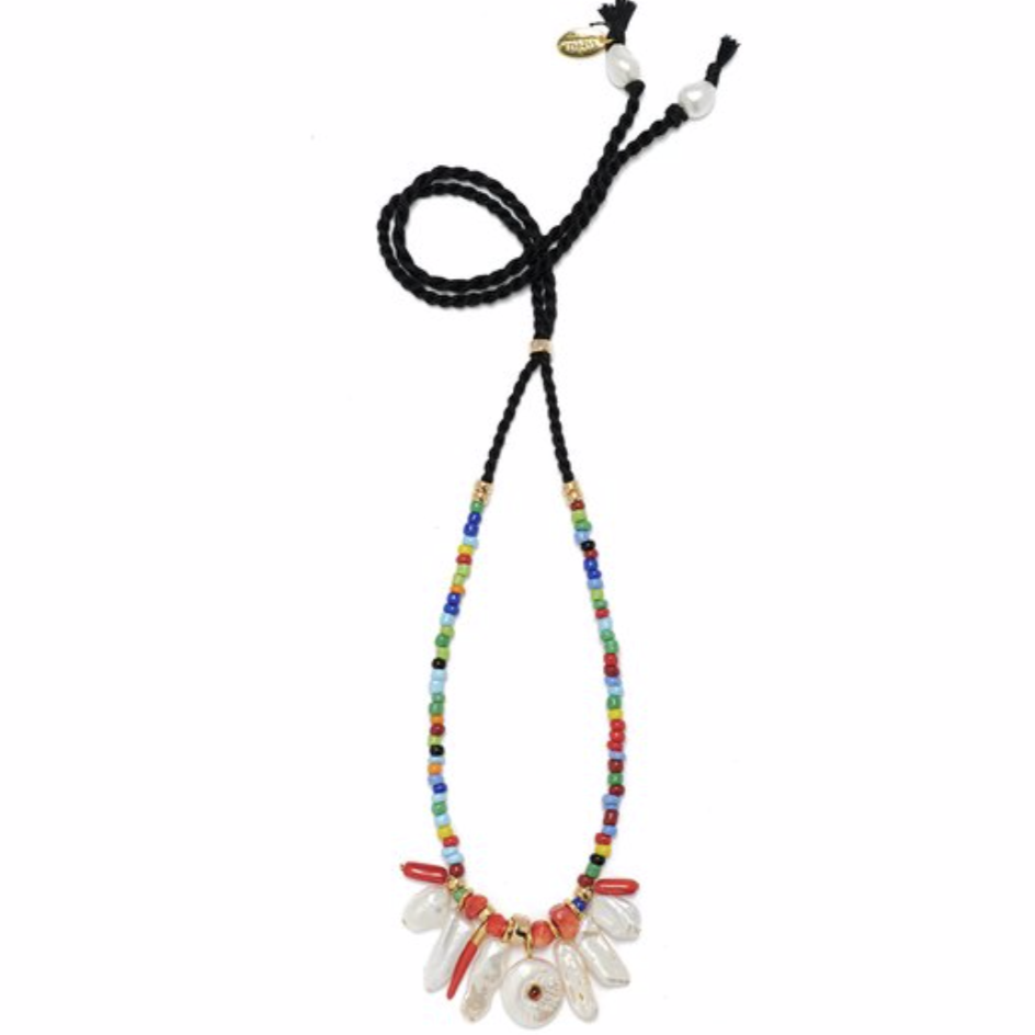 Lizzie Fortunato Isola Necklace