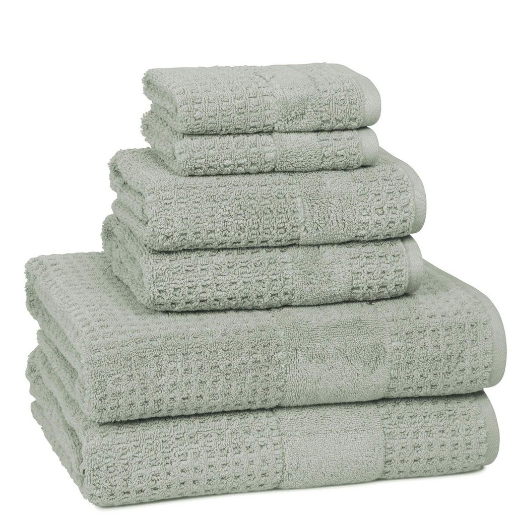 Hammam Turkish Misty Sage Hand Towel