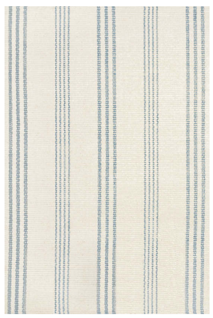 Dash & Albert Swedish Stripe Woven Cotton Rug