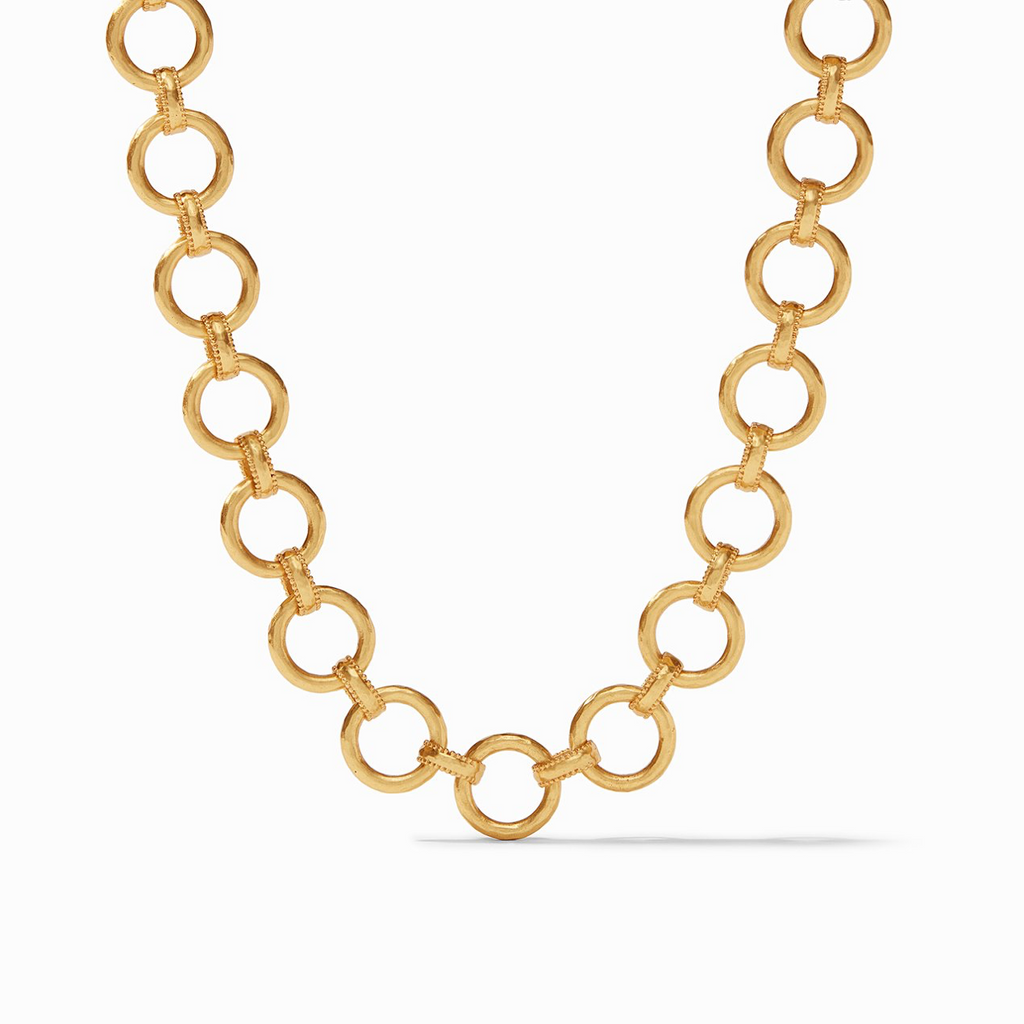 Julie Vos Savoy Demi Link Necklace