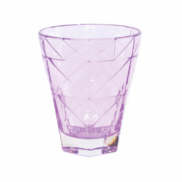 VIETRI Prism Purple Short Tumbler
