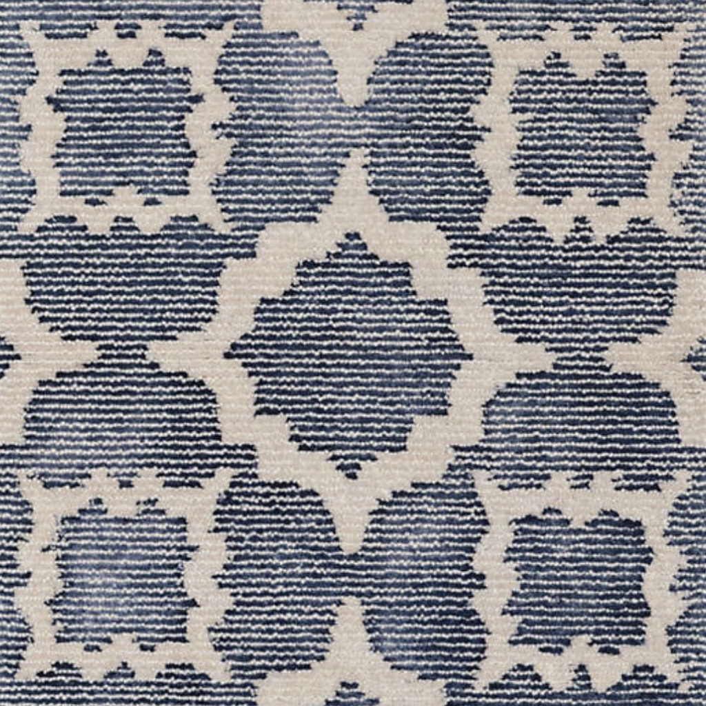 Dash & Albert China Blue Tufted Wool Rug