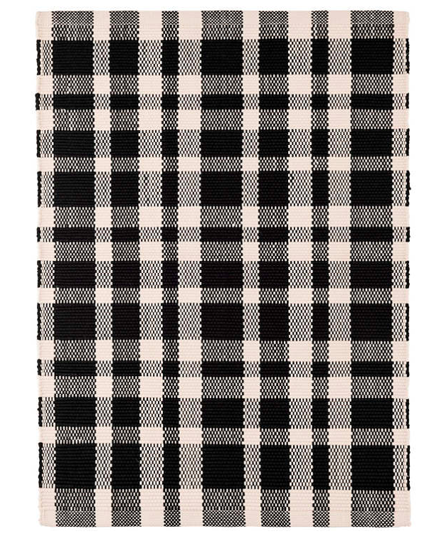 Dash & Albert Tattersall Indoor/Outdoor Rug