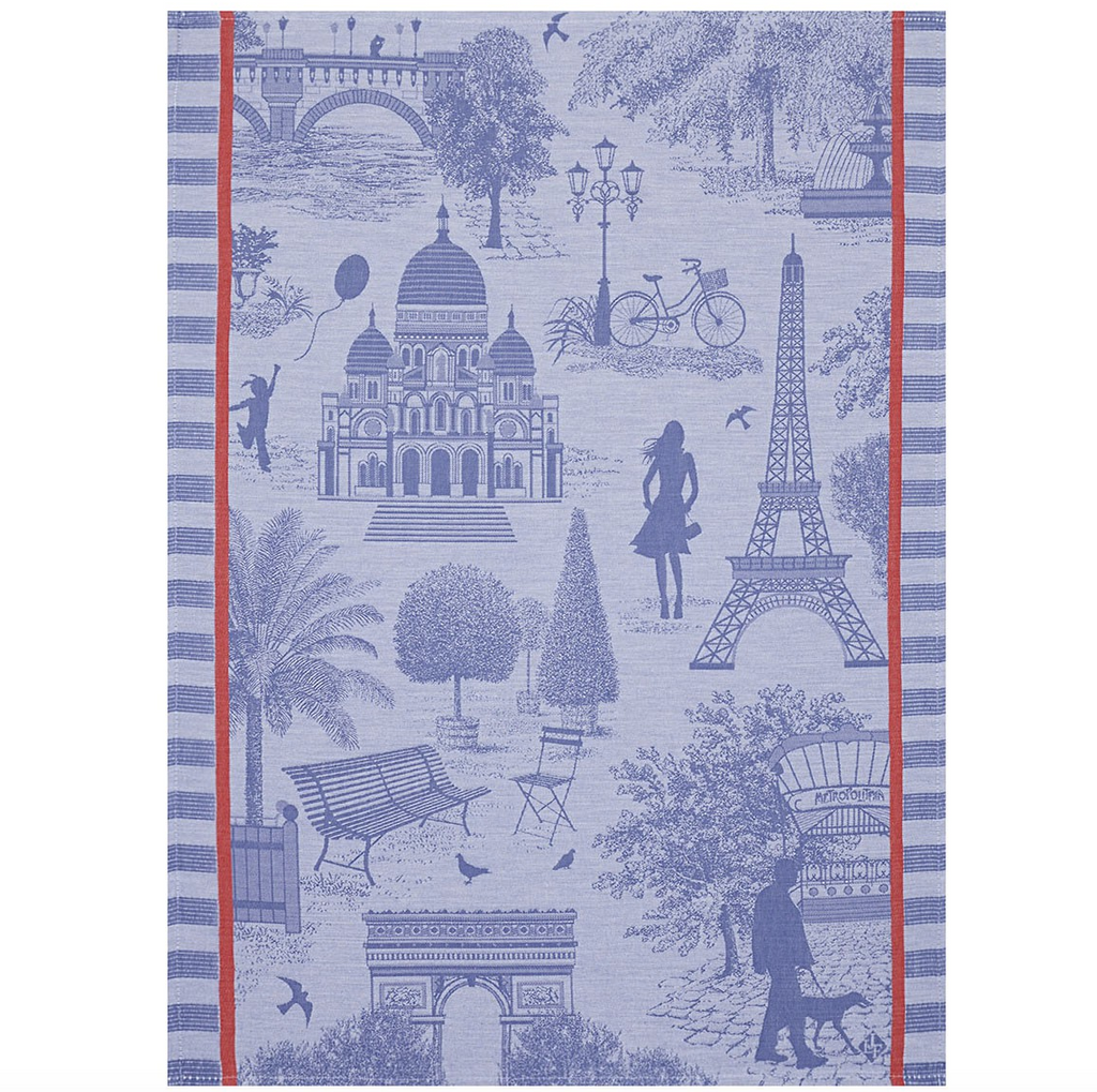 Le Jacquard Paris Blueberry Kitchen Towel