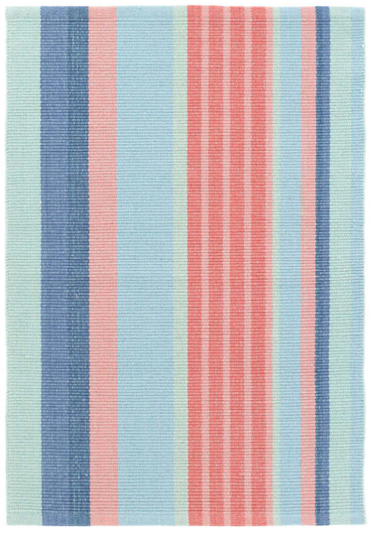 Dash & Albert Aruba Stripe Woven Cotton Rug