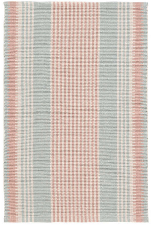 Dash & Albert Island Stripe Woven Cotton Rug