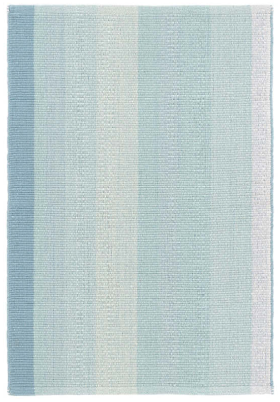 Dash & Albert Shore Stripe Woven Cotton Rug