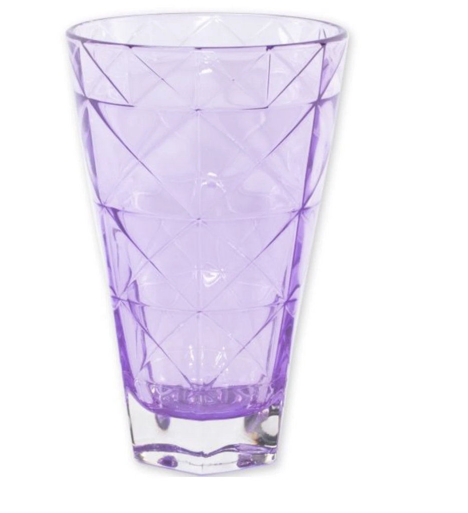 VIETRI Prism Purple Tall Tumbler