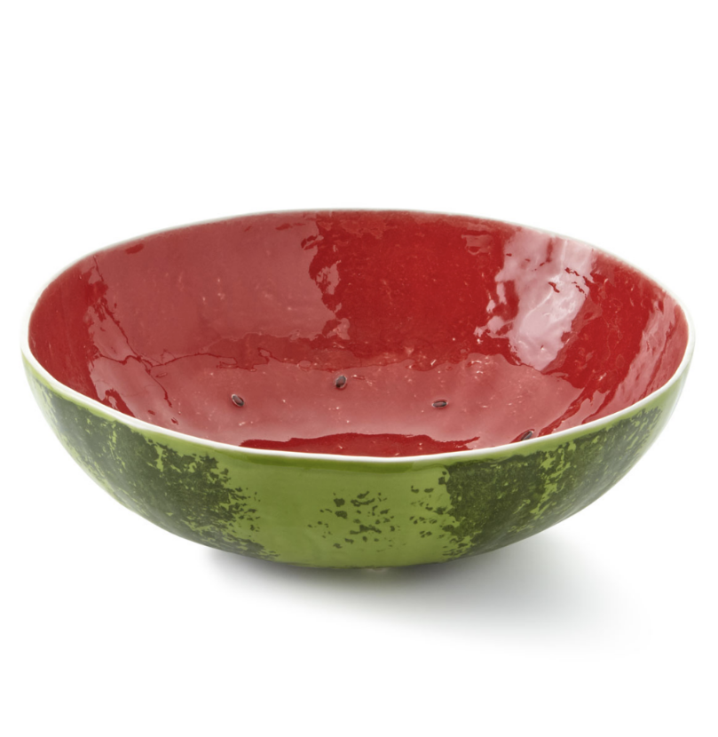Bordallo Pinheiro Watermelon Serving Bowl