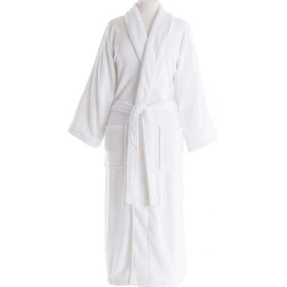 Pine Cone Hill White Robe