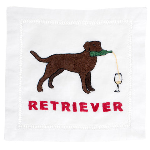 """Labrador Retriever"" Cocktail Napkin Set - Waiting On Martha - 1"
