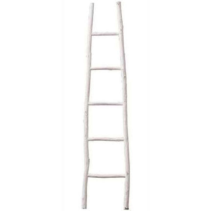 White Wood Ladder - Waiting On Martha - 1