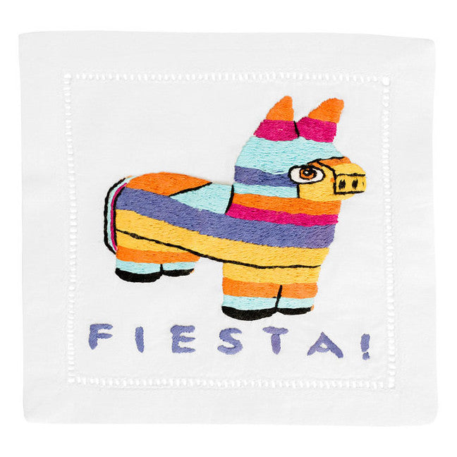"""Fiesta Siesta Pinata"" Cocktail Napkin Set - Waiting On Martha - 1"
