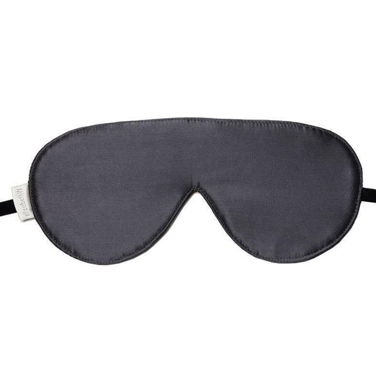 Slate Silk Eye Mask